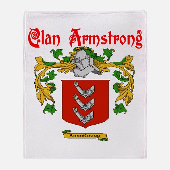 Clan Armstrong Throw Blanket