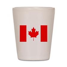Canada Flag Shot Glass