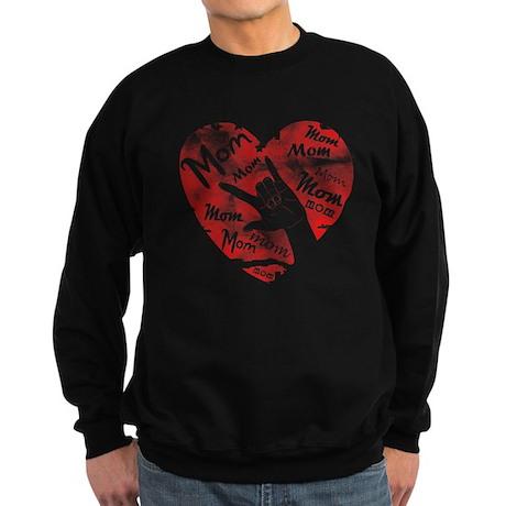 LOVE MY MOM - ASL Sweatshirt (dark)