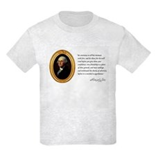 George Washington Kid's Light T-Shirt