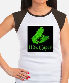 110% Caper Women's Cap Sleeve T-Shirt