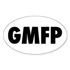 GMFP Oval Decal