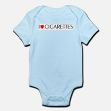 I Love Cigarettes Infant Creeper