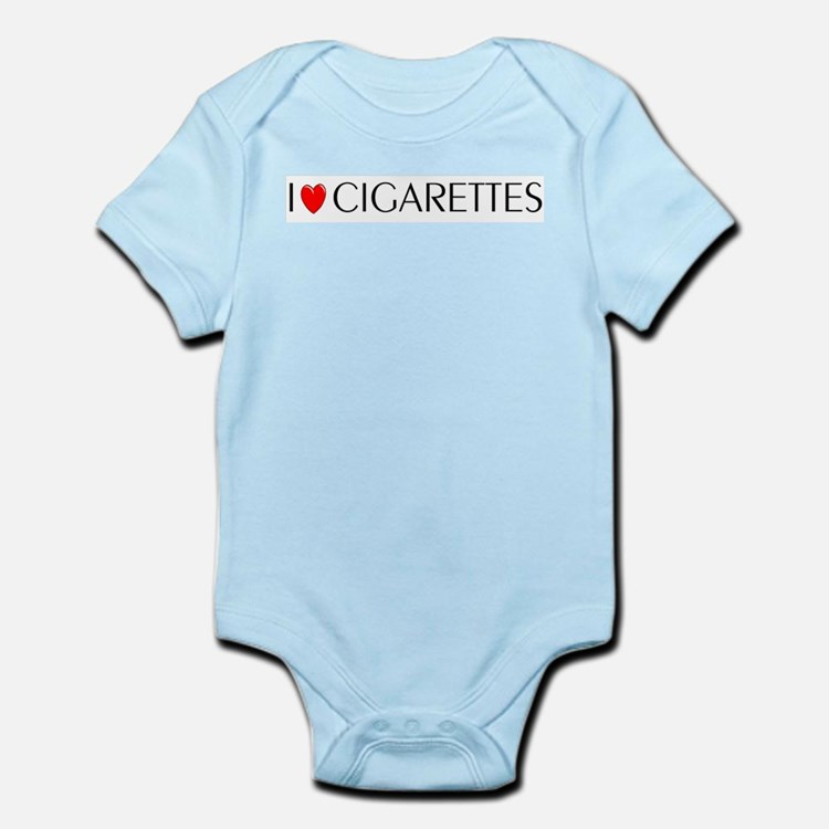 I Love Cigarettes Infant Creeper