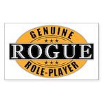 Genuine Rogue Gamer Rectangle Sticker