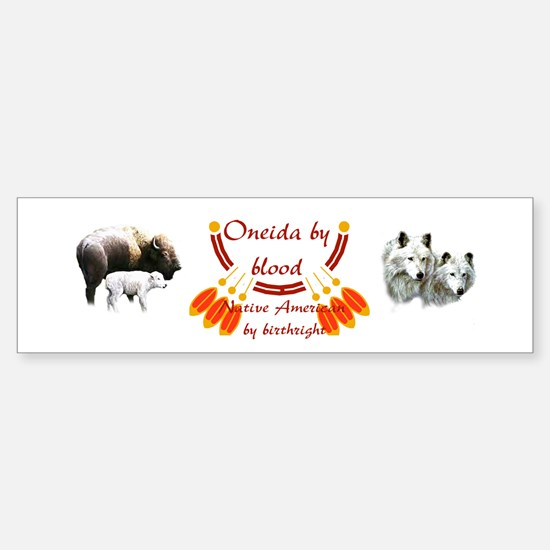 """Oneida"" Bumper Car Car Sticker"