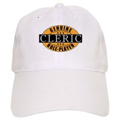 Genuine Cleric Gamer Baseball Cap