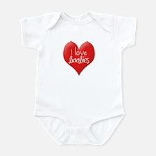 Cool I love boobies Infant Bodysuit