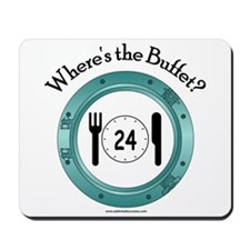 Where's the Buffet? Mousepad