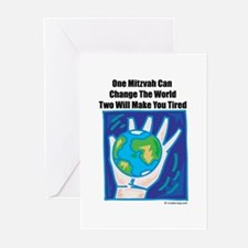 One Mitzvah Can Change The Wo Greeting Cards (Pack