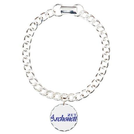 ZetaArchonette Charm Bracelet, One Charm