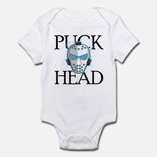 PUCK HEAD Hockey Infant Bodysuit