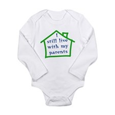 I still live with my parents - boy Long Sleeve Inf