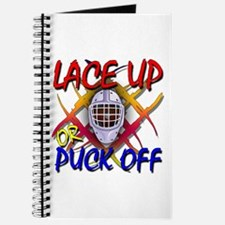Lace up or Puck Off Hockey Journal