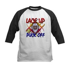 Lace up or Puck Off Hockey Tee