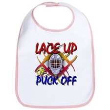 Lace up or Puck Off Hockey Bib