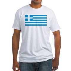 Greece Greek Blank Flag Shirt