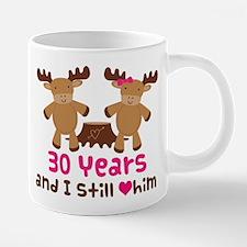 30 Anniversary Moose 20 oz Ceramic Mega Mug
