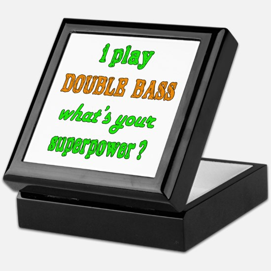 I play Double Bass what's your superp Keepsake Box