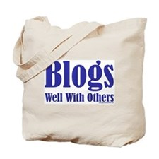 Blogs Well With Others Tote Bag