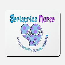 Geriatrics Nurse Mousepad