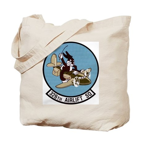326th Airlift Squadron Tote Bag
