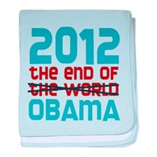 The End of Obama baby blanket