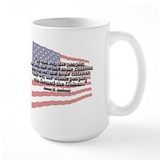 Susan B. Anthony: We The People Quote Mug