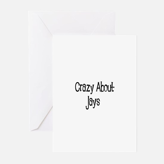 Crazy About Jays Greeting Cards (Pk of 10)