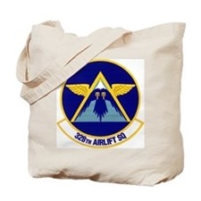 328th Airlift Squadron Tote Bag