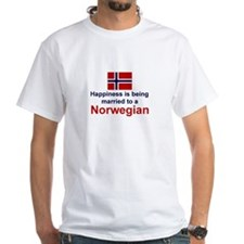 Happily Married To A Norwegian Shirt