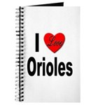 I Love Orioles Journal