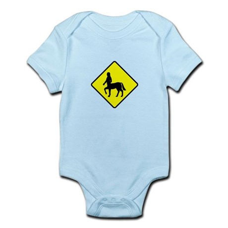 Caution Centaurs Infant Bodysuit
