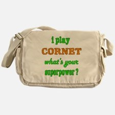 I play Cornet what's your superpower Messenger Bag