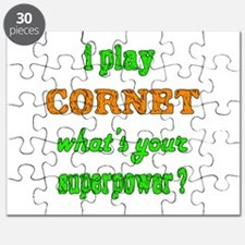 I play Cornet what's your superpower ? Puzzle