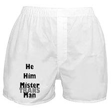 Mister TransMan Boxer Shorts
