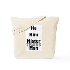 Mister TransMan Tote Bag