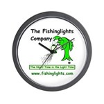 Night Fishing Wall Clock