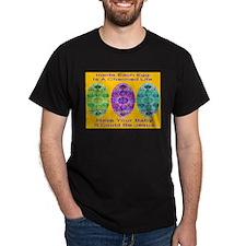 A Charmed Life Golden Black T-Shirt