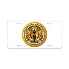 Pentacle of the Yellow Goddes Aluminum License Pla