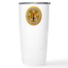 Pentacle of the Yellow Goddes Travel Mug