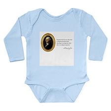 George Washington Long Sleeve Infant Bodysuit