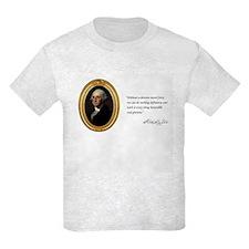 George Washington Kid's Light T-Shirt