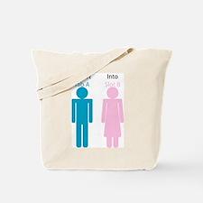 Insert Tab A into Slot B Tote Bag