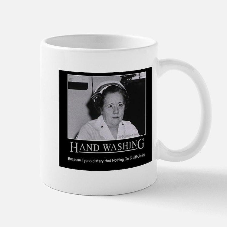 Infection Control Humor 02 Small Small Mug