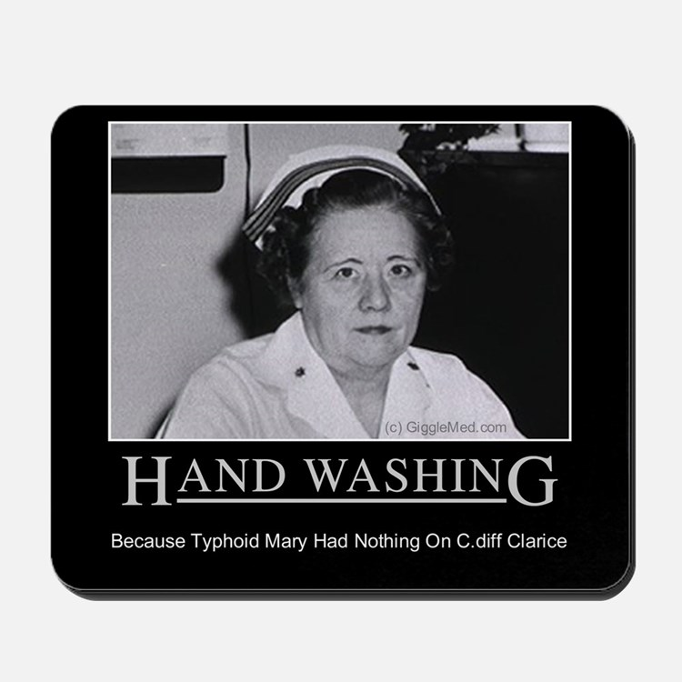 Infection Control Humor 02 Mousepad