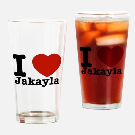 Jakayla.png Drinking Glass