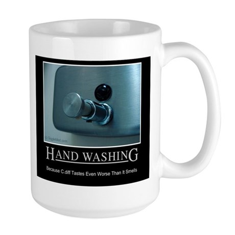 Infection Control Humor 01 Large Mug