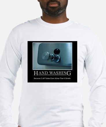 Infection Control Humor 01 Long Sleeve T-Shirt