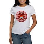 Red Triple Goddess Pentacle Women's T-Shirt